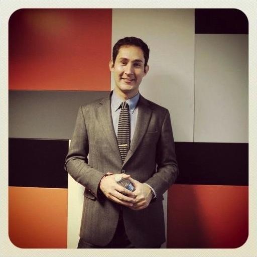 Le co-fondateur d'Instagram, Kevin Systrom, en marge de LeWeb 2012.